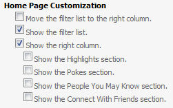 homepagecustomization